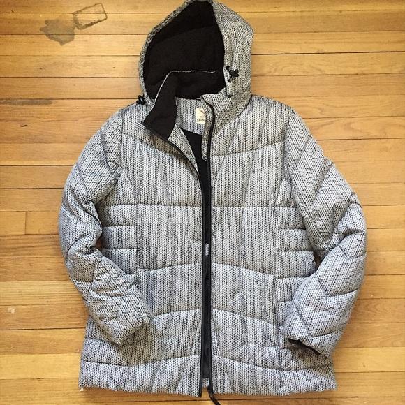 b52149cb9dca3 Faded Glory Jackets & Blazers - Faded Glory Women's Hooded Puffer Coat ...